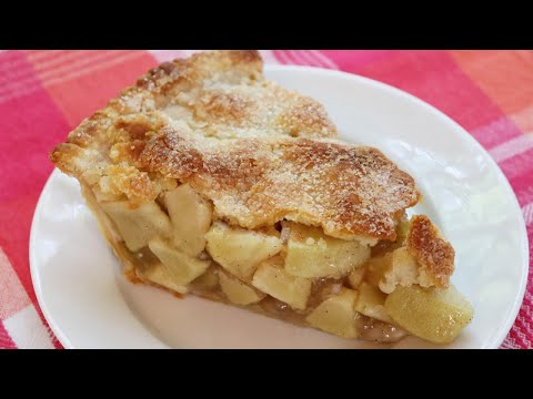Homemade Apple Pie - Easy Oil Crust, 3 POUNDS OF APPLES