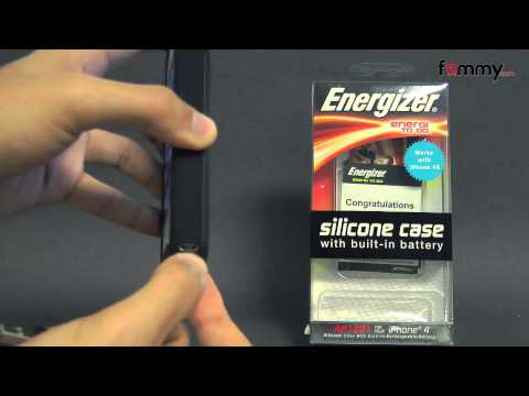Energizer� 1200 mAh Battery Case - Black