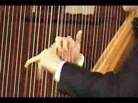 Josh Layne performs Grandjany-s cadenza-Handel Harp Concerto