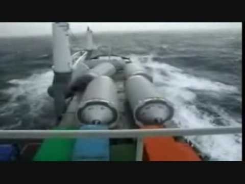 Loosing Cargo in rough sea