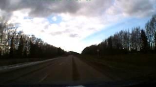 Владимир - Юрьев-Польский за 4 минуты