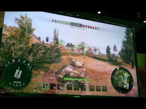 World of Tanks: Xbox 360 Edition in-game footage