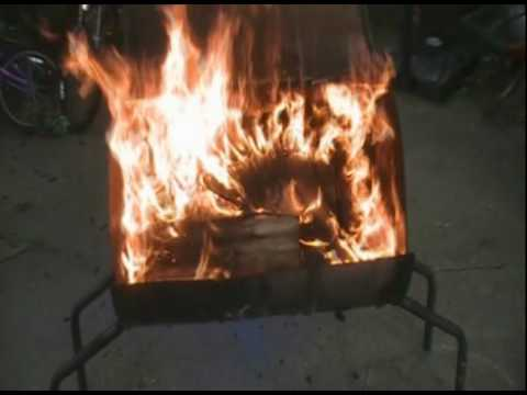 How to make a 55 Gallon Grill/Smoker Part 1