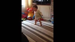 Baby Footballer Fail