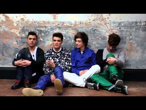 Union J interview for Boys By Girls Magazine