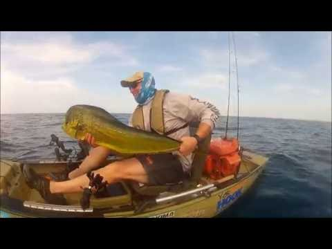 Epic day kayak fishing in the gulf