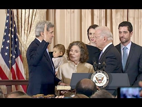weekly address:  Vice President Biden Swears In Secretary of State John Kerry 2/6/13