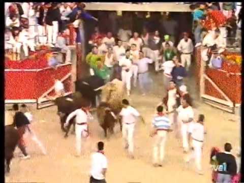 Encierro San Fermín   9 de julio de 1993 480p