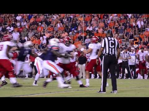 A highlight reel of Auburn's 51-14 victory against Arkansas St.