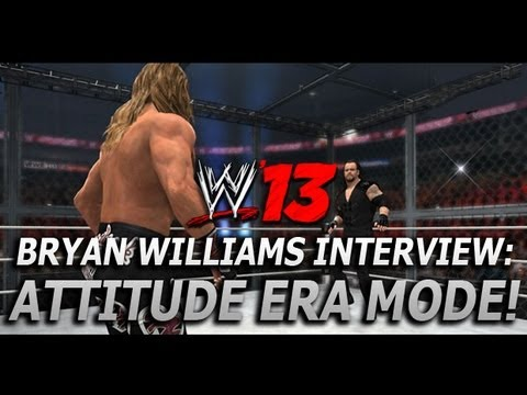 WWE '13: Bryan Williams Interview (Part 1 - Attitude Era Mode)