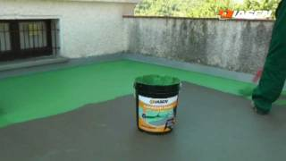 Sistema impermeabilizzante liquido pedonabile by Diasen - YouTube