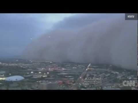 Impactante tormenta de arena en los Estados Unidos (6/7/11) HD