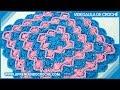 Toalha de Croche Baviera - Aprendendo Crochê
