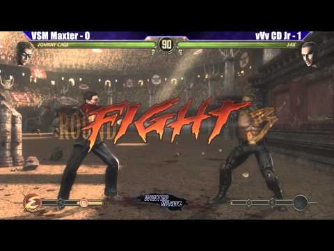 MK9 Top 8 VSM Maxter vs vVv CD Jr - WB6 Road to Evo 2012