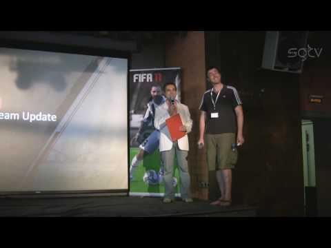 FIFA 11 Репортаж с презентации игры в Москве