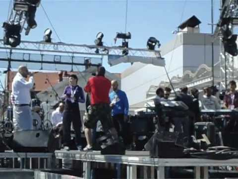 Stavento ft. Ivi-Kalws se vrika Live@Amita Motion Thessaloniki 2012 (Soundcheck)