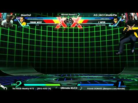 The Break #172 - UMvC3 W2 - MaxOut VS AG MCZ MarlinPie