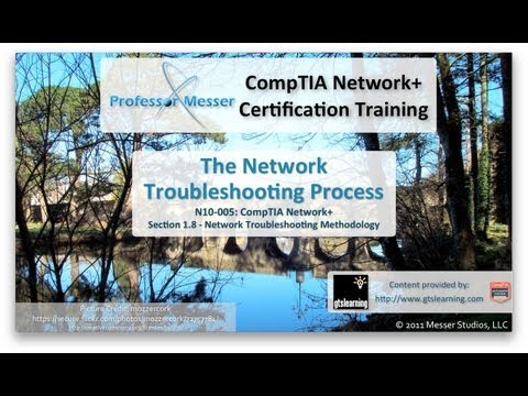 CompTIA Network+ N10-005: 1.8 - The Network Troubleshooting Process