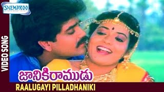 Raalugayi Pilladhaniki Video Song - Janaki Ramudu