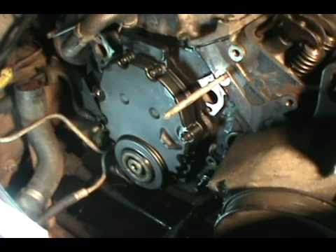 part 5, Vortec 5.7 350 head gasket, water pump &amp; timing chain replacement, Chevy/ GMC