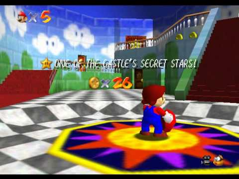 Super Mario 64 - Super Mario 64 (N64) - Vizzed.com Play - User video