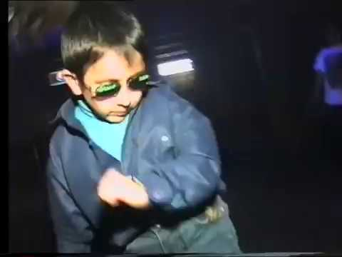Russian Dancing Kid In A Nightclub In 1997.