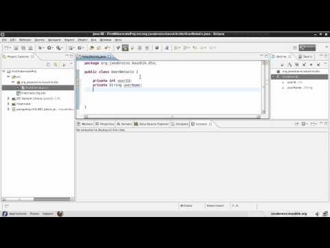 Hibernate Tutorial 03 Part 2- Writing the Model Class with Annotations