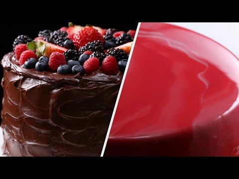 5 Mesmerizing Cake Recipes To Bake For A Birthday Party • Tasty