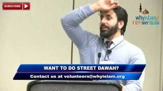 Learning how to do Dawah - Hamza Tzortzis
