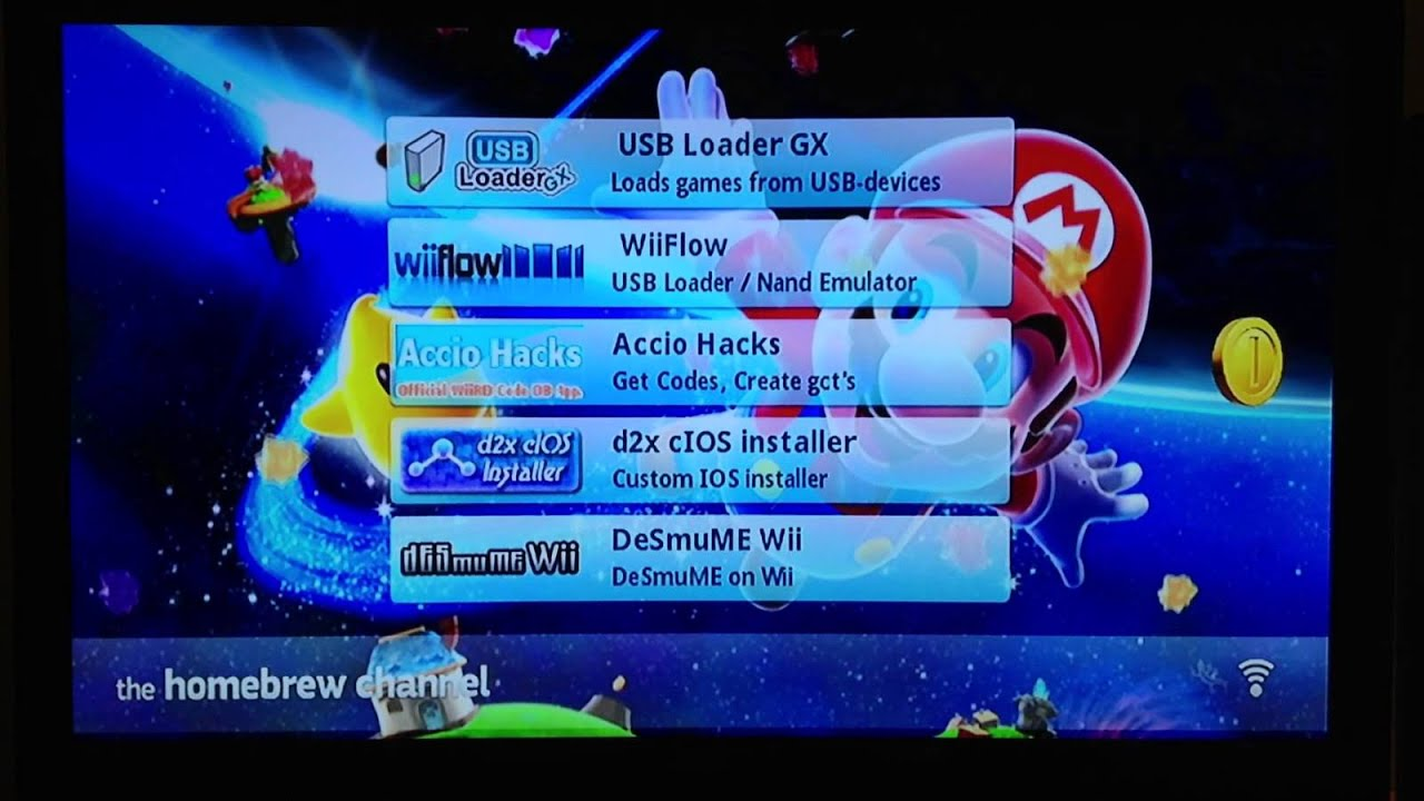 how to use the homebrew channel on wii 4.3 u