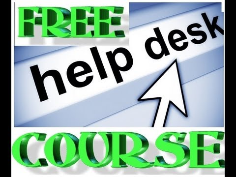 Help desk Support Specialist Free Training and Guide Part 2