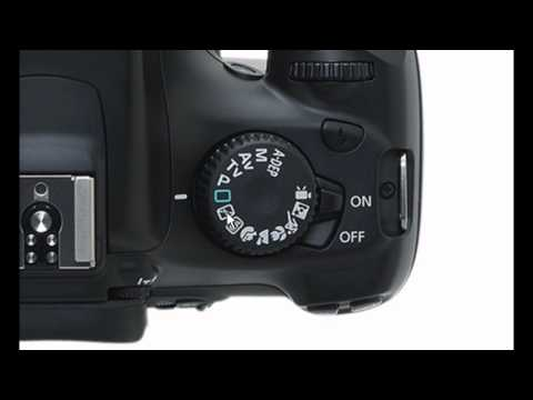 Canon T3 1100D - Camera DSLR Tutorials - buttons and exterior features