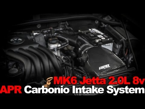 APR Carbonio Intake System for the MK6 Jetta 2.0L 8v