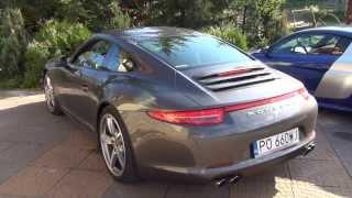 Audi R8 V10 vs Porsche 911 4S - start zimnych silnik�w. Kt�ry lepszy?