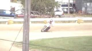 Auto Racing Dirt Tracks Alabama on Kyle Goughenour   Richwood Oh   Flat Track Motorcycle Racing  27f
