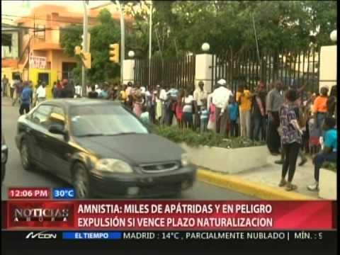 Amnistía advierte de expulsión de descendientes de haitianos