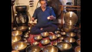 Gong and Tibetan Singing Bowl Meditation view on youtube.com tube online.