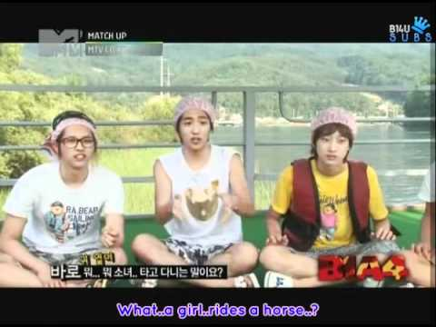 (B14USubs) [110706] MTV Match Up Episode 3 - B1A4 Cut (Part 1).avi