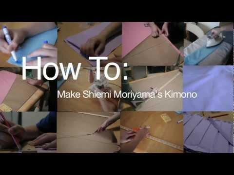 How To: Shiemi Moriyama's Kimono