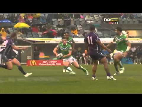 NRL 2012 Round 1 Highlights: Raiders V Storm