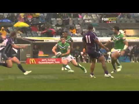 NRL 2012 Round 1 Highlights: Raiders V Storm