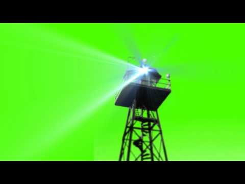 Guard Tower - Green Screen Animation