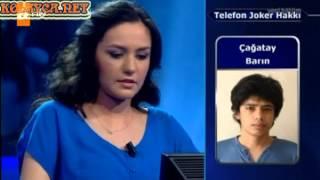 Kim Milyoner Olmak ister 209 bölüm Melisa İnan 24.04.2013