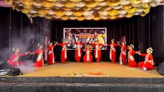 Aigiri nandhini fusion song by Meenakshipuram branch students