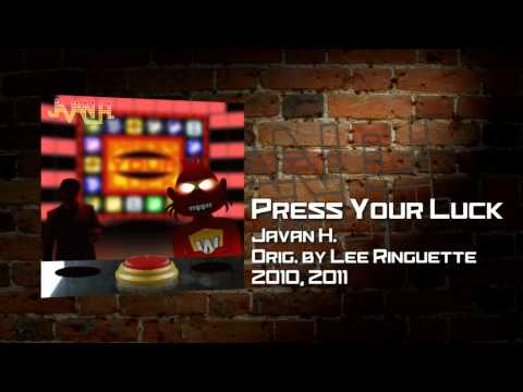 &quot;Press Your Luck&quot; -- Prize cue cover by Javan H.