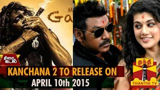 Watch Kanchana 2 to Release On April 10th Red Pix tv Kollywood News 27/Feb/2015 online
