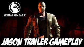 Mortal Kombat X - Jason Trailer Gameplay, Fatality, X-Ray