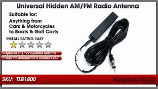 hidden am fm antenna universal motorcycle and car radio hidden am fm antenna universal motorcycle and car radio windshield antenna