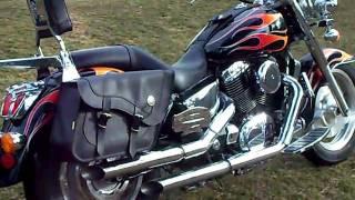 Chrome Freeway//Crash//Highway Bar /'87-/'96 Honda VT 1100 C Shadow VT1100