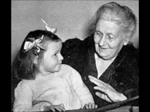 AUGUST 31 1870, birth of maria MONTESSORI